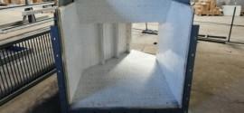礦用陶瓷耐磨溜槽