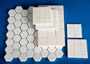 Alumina wear-resistant ceramic sheet