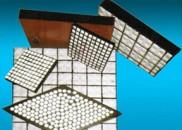 Impact-resistant wear-resistant ceramic rubber composite liner